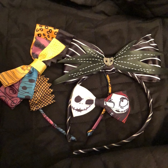 0ed3bec035 Accessories - Nightmare before Christmas hair accessory bundle